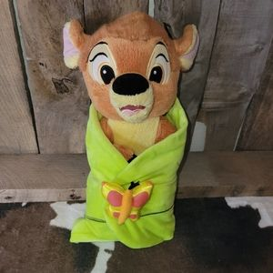 [Disney] Baby Bambi Wrapped in Leaf Blanket